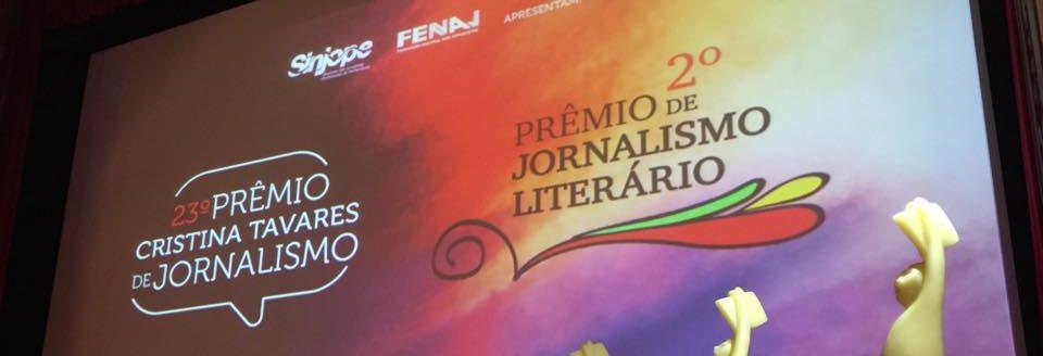 Sinjope e Fenaj lançam 23º Prêmio Cristina Tavares de Jornalismo e 2º Prêmio de Jornalismo Literário