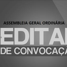 Assembleia Geral Ordinária (AGO) – Dia 21/08 (terça-feira)