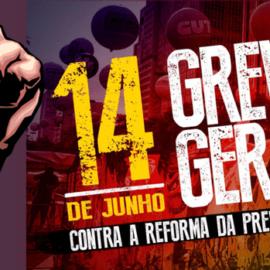 Greve Geral no dia 14/06 – Manifesto da FENAJ aos jornalistas brasileiros
