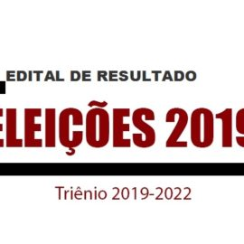 Edital de Resultado das Eleições – Sinjope 2019