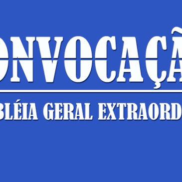 AGE para Eleição da Delegação ao 38º CNJ (Edital)