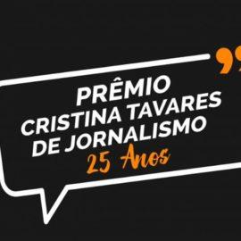 Sinjope e Fenaj lançam o  25º Prêmio Cristina Tavares de Jornalismo e 1º Prêmio de Jornalismo Cultural
