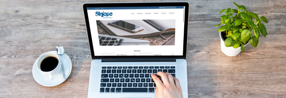 Novo site do Sinjope
